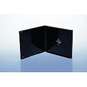 CD Box - unzerbrechlich - für 1 CD - schwarz