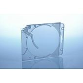 Abheftclip für CD Ejector Case - transpa rent