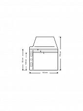 Klarsichttasche für 3 Discs - mit  seitlichem Abheftrand und Klappe