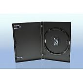 AMARAY DVD Box 1-fach - 14mm - mit Clip für Tray - schwarz - bulk