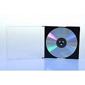 CD Slimcase - 5.2mm - schwarz - kartoniert
