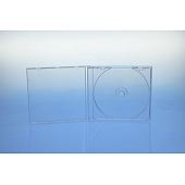 CD Jewelcase für 1 Disc - montiert mit transparentem Tray