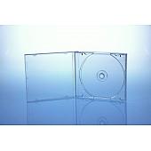 CD Jewelcase für 1 Disc - unzerbrechlich - montiert mit transparentem Tray