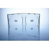 Scanavo Overlap DVD Box 4One - 22mm  - transparent - kartoniert