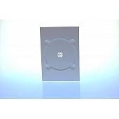 DVD Digitray für 1 Disc - weiß - kartoniert