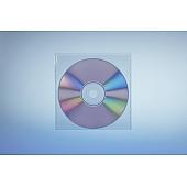 Klarsichttasche für 1 Disc - ohne  Klappe