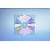 Klarsichttasche für 1 Disc - ohne  Klappe - trennahtgeschweißt - 100my