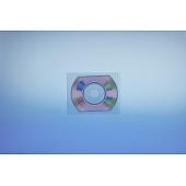 Klarsichttasche für CD-Visitenkarte  85x61 mm