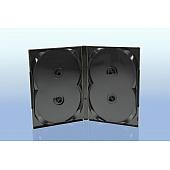 Scanavo Overlap DVD Box 4One - 22mm  - grau - bulkware