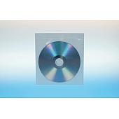 Klarsichttasche für 1 Disc - selbstklebend - ohne Klappe - perforiert