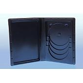 Weichbox für 4 Disc's (Overlap) und A5 Inhalt