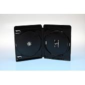 AMARAY BluRay Box 4K FOF ULTRA HD - 15mm für 2 DVD schwarz - bulkware