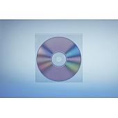 Klarsichttasche für 1 Disc - ohne  Klappe - trennahtgeschweißt