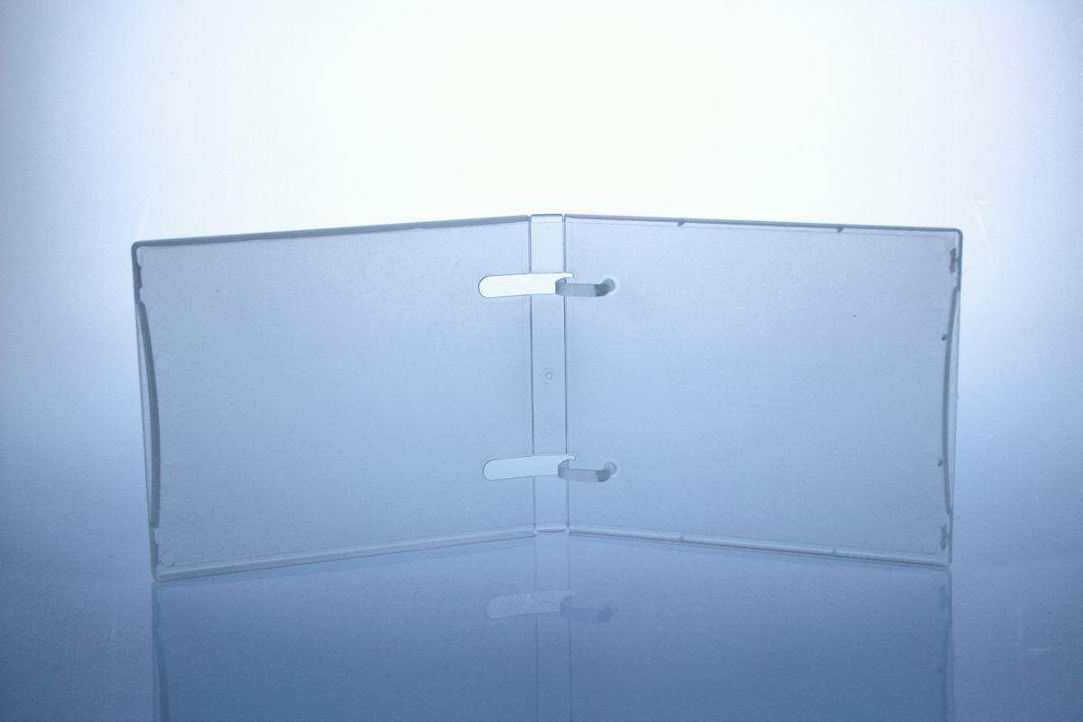 Unikeep Box - bis zu 5 Discs - transparent