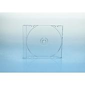 CD Tray 1-fach für Jewelbox - transparent - kartoniert