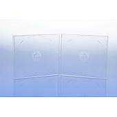CD Box - unzerbrechlich - für 2 CD's - transparent