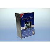 DVD Box 3-fach mit Tray - 14mm - 5er  Pack - schwarz