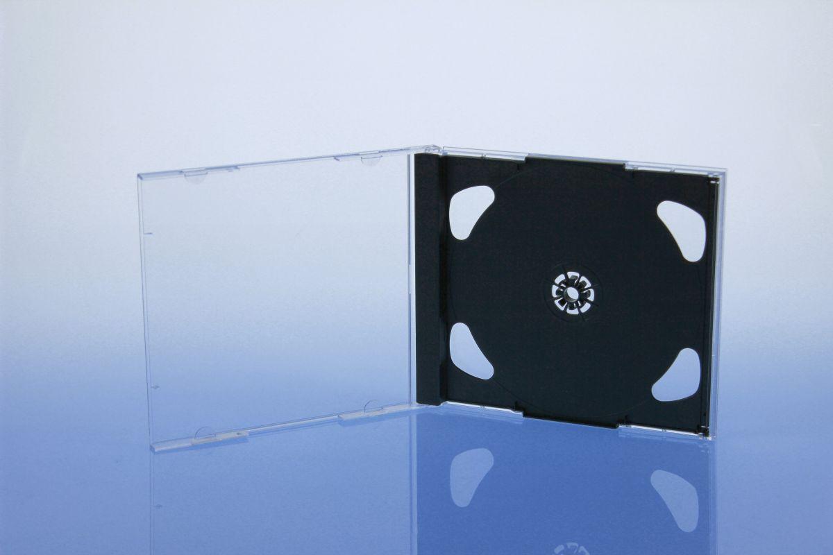 Brilliant Tray 2-fach - ohne Logo  - schwarz - bulkware