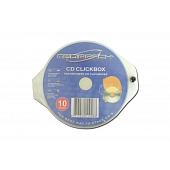 Mediapack CD Stackbox -10er Pack - transparent