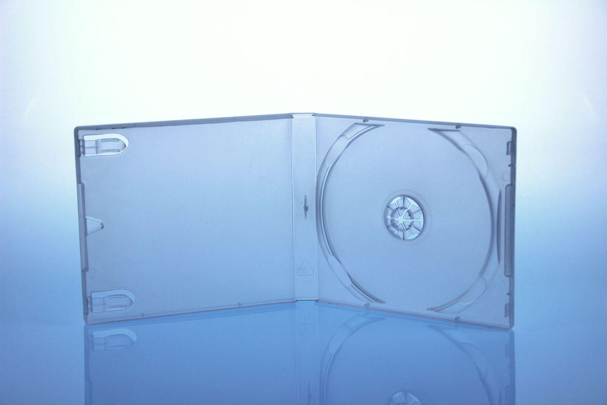 Playstation CD Box - unzerbrechlich  - für 1 CD - transparent