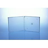 CD Box - unzerbrechlich - für 1 CD - transparent