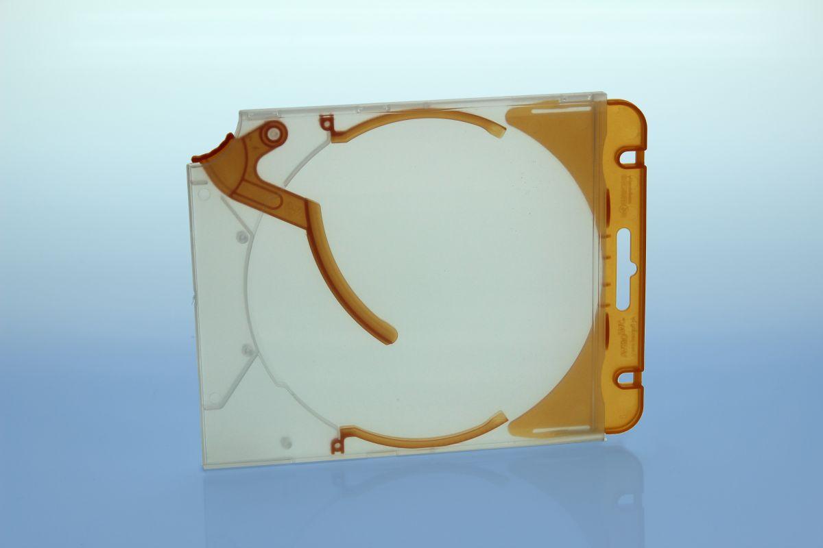 Abheftclip für CD Ejector Case - orange