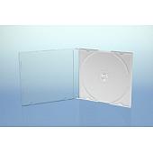CD Slimcase - 5.2mm - weiß - kartoniert