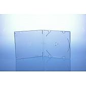 CD Slimcase 5.2mm - unzerbrechlich - für 1 Disc - transparent