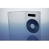 Einlage / Tiefziehtray für CD und USB Stick 68x22x10 mm