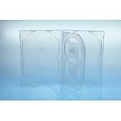 Scanavo Overlap DVD Box 6One - 14mm - transparent