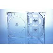 Scanavo Overlap DVD Box 7One - 21mm  - transparent