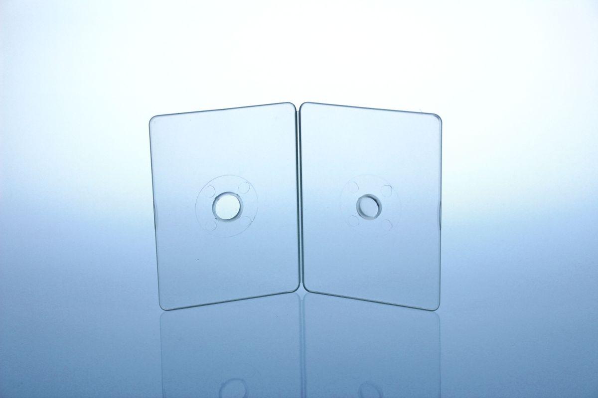 Kartenbox - unzerbrechlich - für 1  CD-Card