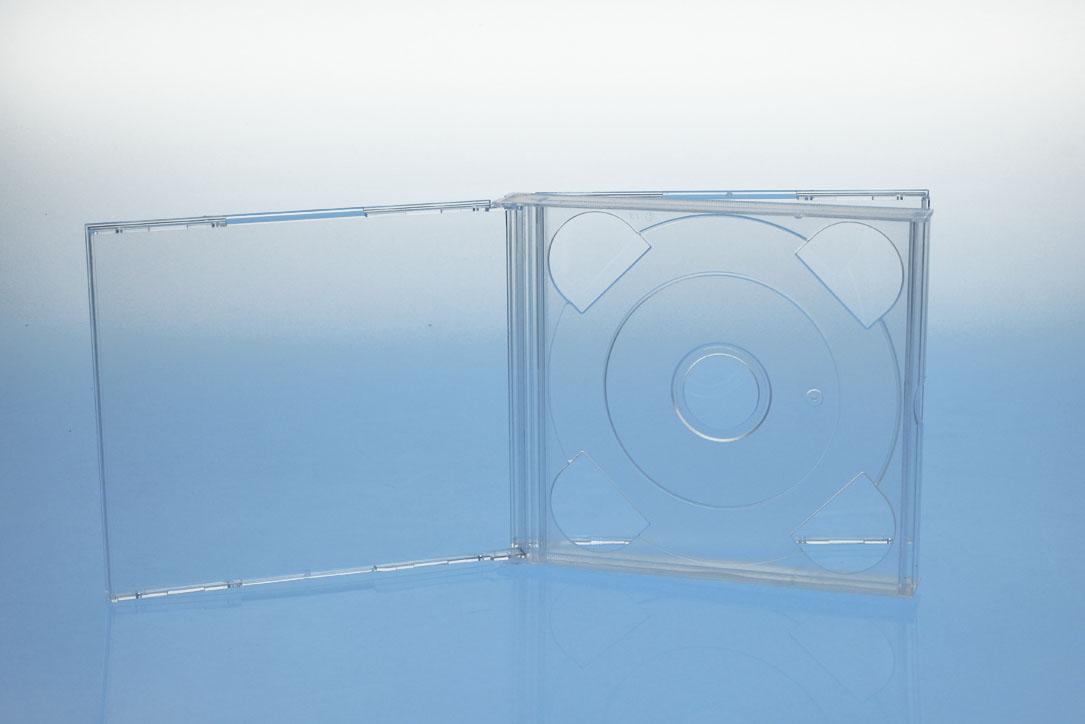 CD Multibox 2er - transparent - kartoniert