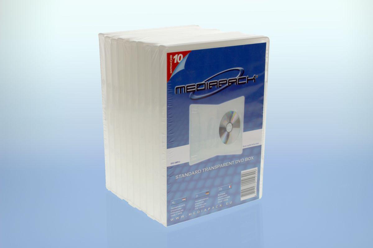 DVD Boxen 10er Pack - MPI - 14mm -  transparent