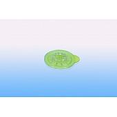 CD Clip / CD Stern selbstklebend -  30mm - transparent