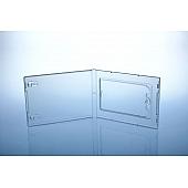 PP Box unzerbrechlich - für 1 Karte  - transparent