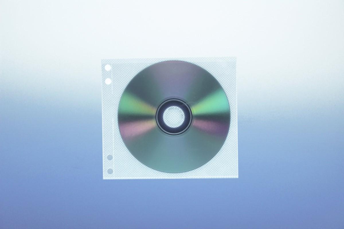 Abhefttasche für Unikeep Box für 2  Discs