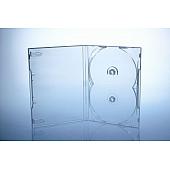 Scanavo Overlap DVD Box 2One - 14mm  - transparent - bulkware