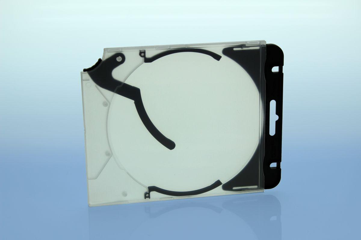 Abheftclip für CD Ejector Case - schwarz