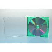 CD Slimcase - 5.2mm - grün - bulkware