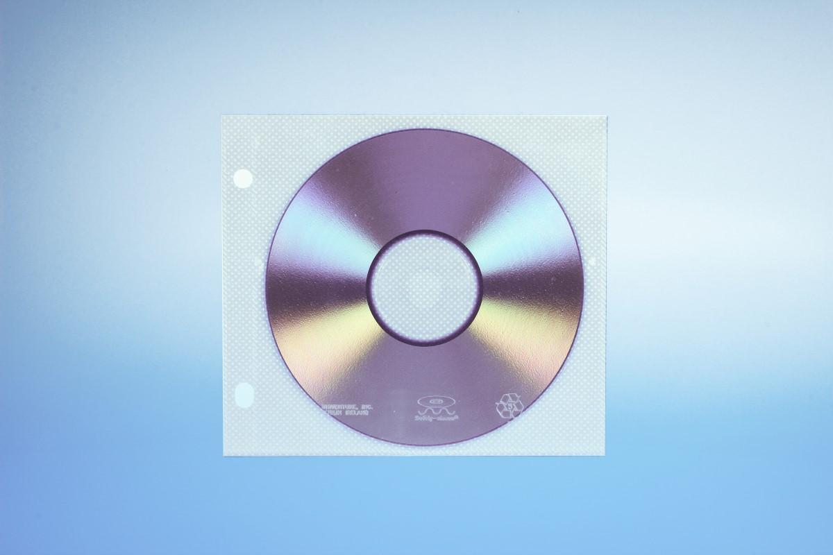 Abhefttasche für Unikeep Box für 1  Disc