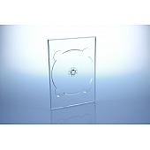 DVD Digitray für 1 Disc - transparent  - bulkware