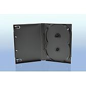 Scanavo Overlap DVD Box 2One - 21mm  - grau - bulkware