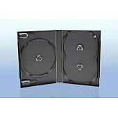 Scanavo Overlap DVD Box 3One - 22mm  - grau - bulkware