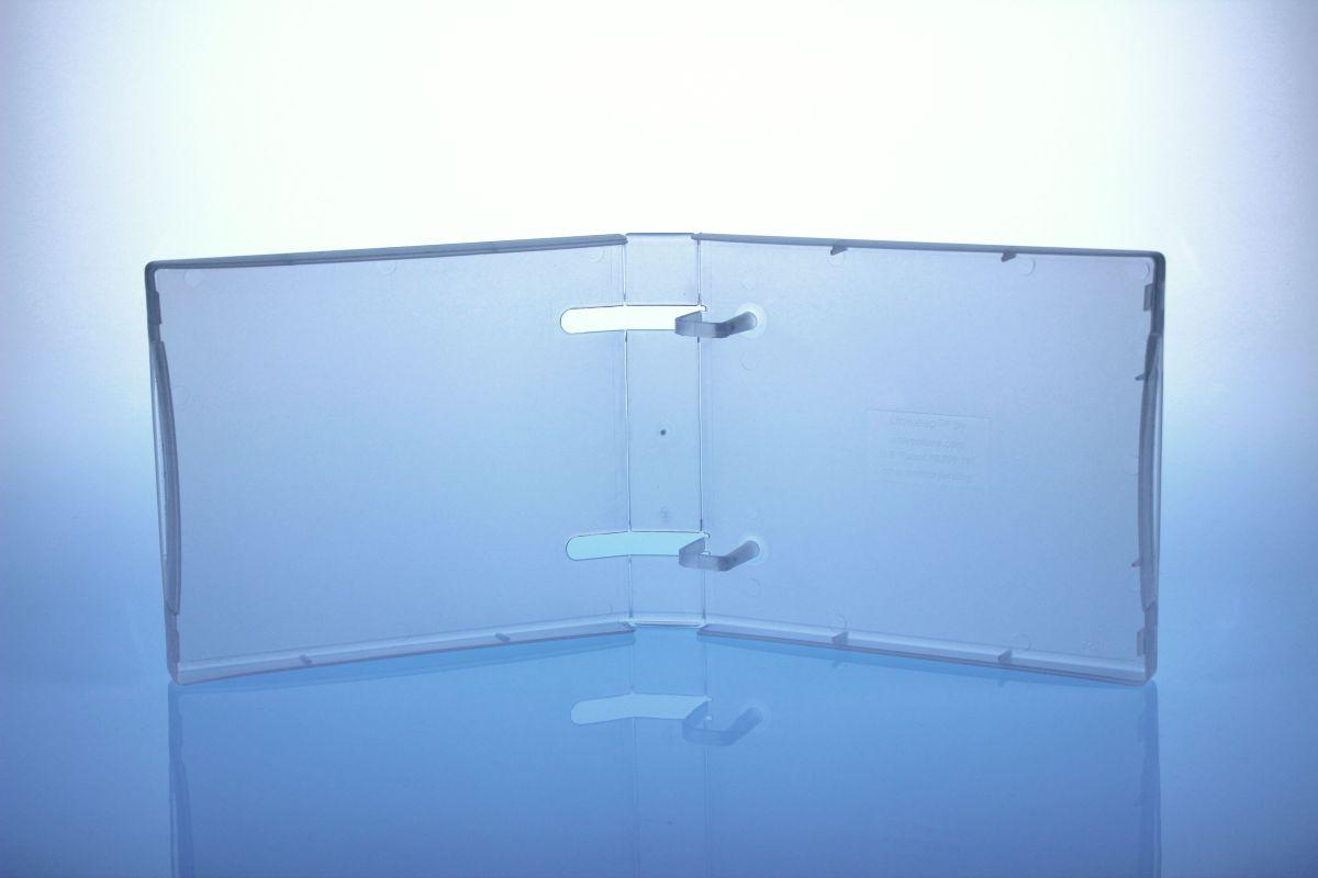 Unikeep Box - bis zu 10 Discs - transparent