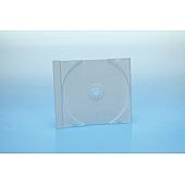 CD Tray 1-fach für Jewelbox - weiß - bulkware
