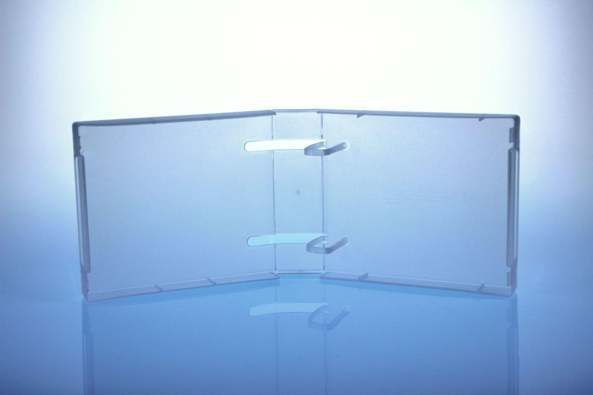Unikeep Box - bis zu 20 Discs - transpar ent