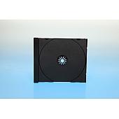 CD Tray 1-fach für Jewelbox - schwarz - kartoniert