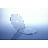 Shellbox / Muschelbox - für 1 Disc -mit Abheftlochung - transparent