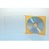 CD Slimcase - 5.2mm - gelb - bulkware